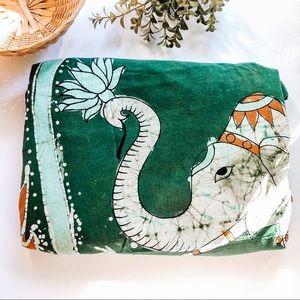 Boho Elephant Bedding Tapestry